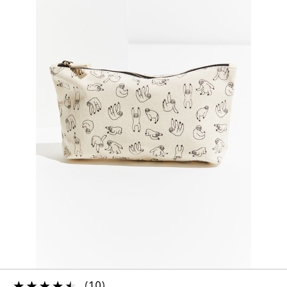 Sloth sketch pouch